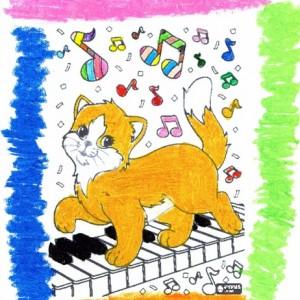 Kot z nutkami-Amelka N (8 lat)